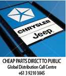 Chrysler Jeep Automotive Parts