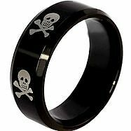 New- Stainless Steel Gothic Skull Ring. Size 12 Sarnia Sarnia Area image 1