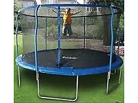 14ft Trampoline with safety netting