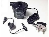 Black UK Mains Pump