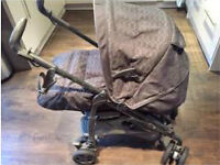 Mamas and Papas Pilko P3 Pramette 3 In One Travel System.