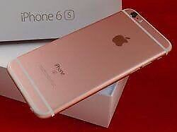 Rose Gold iPhone 6S 64Gb-Charger and headphones included