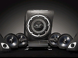 Used Rockford Fosgate Audio system complete