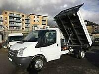 FORD TRANSIT TIPPER 350 DRW, White, Manual, Diesel, 2013