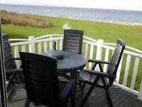 LUXURY CARAVANS FOR HIRE CRAIG TARA AYRSHIRE SCOTLAND *FANTASTIC SEA VIEWS *