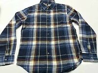 Garment -BABANA REPUBLIC - MEN'S FLANNEL LONG SLEEVE SHIRT -BANGLADESH WAREHOUSE