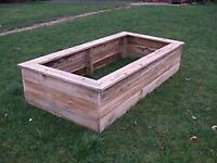 Raised Bed Planters , 2.4m x 1.2m x 45cm deep including delivery.