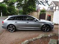 Audi A6 Avant TDi S Line Black Edition Multitronic 177bhp -1 owner