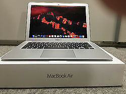 MAC AIR NEWEST OSx SIERRA, I5 CORE 2.7GHZ, 8GB, 256GB SSD, 13 INCH APPLE MACBOOK PRO