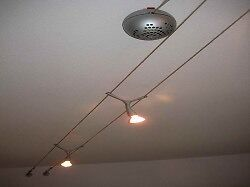 ikea jagare ceilingwall conservatory light lamp x3 lamps cable suspended mount how you cable lighting ikea