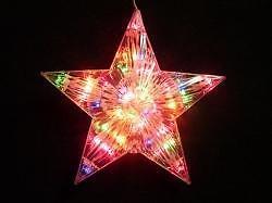 Starlight Ster Kleur Multicolour 40 X 40 Cm Kerst