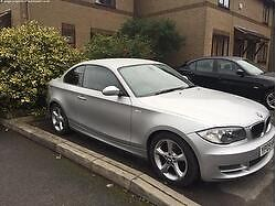 BMW 1 Series coupe 2.0 120d M Sport 2dr, FULL LEATHER HEATED SEATS + Full service history