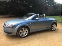 Audi TT soft top, lots of history, reliable car,excellent condition,long MOT,private plate included