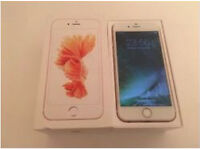 iPhone 6s white/rose gold 16gb on EE