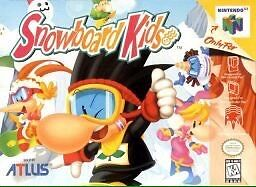 Looking for snowboard kids on n64