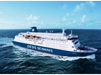 Dfds mini cruise to Amsterdam 8-10may