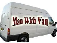 Man with Van Removal, House Moving, Courier , Pick & Drop Furniture , Recycling Services 15/hour min