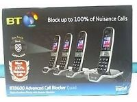 BT8600 Quad Digital Cordless Phones BOXED £30 (NO TXT PLZ)
