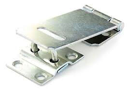 Securit S1441 Safety Hasp and Staple Zinc Plated - 90mm