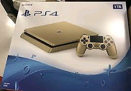1TB gold ps4