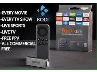 Amazon Fire stick with kodi , will deliver