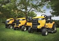 CUB CADET **NEVER SEEN BEFORE** AUGUST SUPER SALE