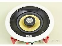 Bowers and Wilkins (B&W) single CCM50 in ceiling speaker