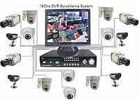 cctv kit camera dvr 5 in 1 system