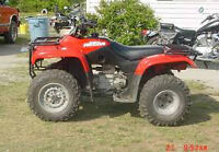 wanted broken or old four wheelers any make