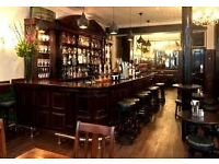 Bar Tender – The Hat & Tun – Farringdon