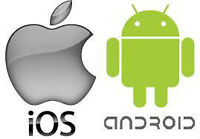 Apple iOS & Android OS Apps development and mobile website for