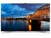 "SAMSUNG 65"" SMART 4K ULTRA HD 3D ULTRA SLIM LED TV (UA65F9000AR)"