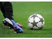 Goalkeepers wanted for a 7-a-side game of football