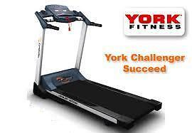 York Challenger Succeed Treadmill, auto incline, full warranty, best quality NEW