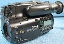 Sony-CCD-TR6-Camcorder-Black-with-battery ( For Parts)