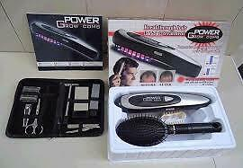 Power Grow Comb Hair regrow! Laser beam, energy diodes, Bio stim