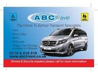 8 to 15 seater Minibus hire in Reading & Wokingham - ABC TRAVEL 0118 9696969