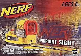 Nerf-PINPOINT-SIGHT-Attaches-N-STRIKE-BLASTER-Tactical-Rail-SUPER-RARE-Pin-Point