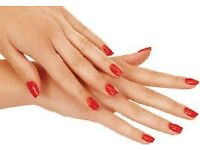 NAIL TECHNICIAN SPECIAL OFFER SHELLAC MANICURE AND PEDICURE £28