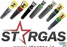 Stargas 10 litre argon co2 welding gas mix bottle