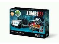 wii U with games and extras