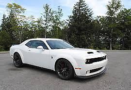 2019 White Challenger Srt Hellcat Redeye - New Dodge