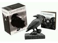GAME OF THRONES - THREE EYED RAVEN FIGURINE