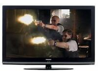 """55"""" SAMSUNG LCD TV BUILTIN FREEVIEW HDMI PORTS GOOD CONDITION GREAT WORKING ORDER CAN DELIVER"""