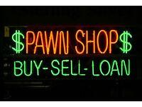 Pawnbrokers/Retail shop assistant