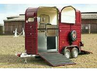 Wanted. Rice Horse Trailer