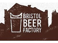 Kitchen Assistant for Bristol Beer Factory @ The Arnolfini Cafe/Bar