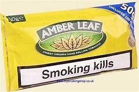 amber leaf 50g 5 packs