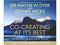 BARGAIN: Co-Creating at its best by Dr Waybe Dyer & Esther Hicks (3CDs)