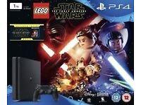 PS4 1TB Force Awakens boxset, still sealed as new.